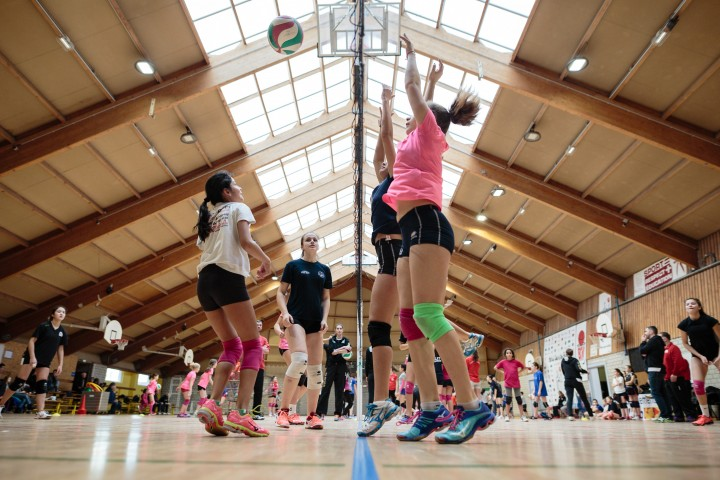 Un mercredi du volley à Kingersheim avec l'ASPTT Volley